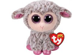 Ty Beanie Boos Χνουδωτό Πρόβατο Γκρι