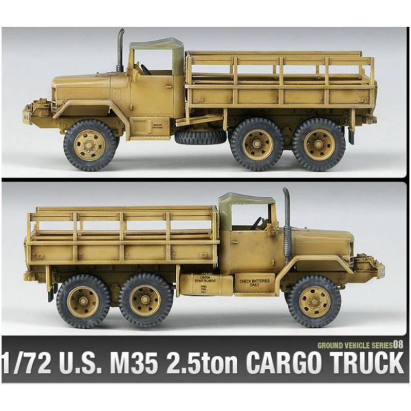 U-S-M35-2-5-Ton-Military-Cargo-Truck-1-72