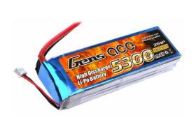 Μπαταρία Gens Ace LiPo 5300mAh 7 4V 30C 2S1P