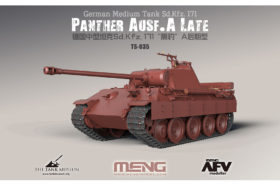 German Medium Tank Sd.Kfz.171 Panther Ausf.A Late 1:35