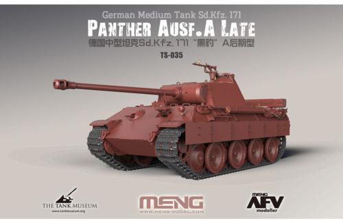 German Medium Tank Sd.Kfz.171 Panther Ausf.A Late 1:35