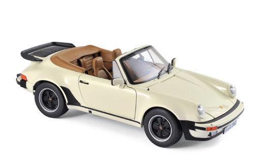 Porsche 911 Turbo Cabriolet 1987 – Ivory Norev