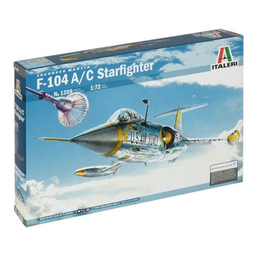 F-104 172 ITALERI 1359 ΣΥΝΑΡΜΟΛΟΓΟΥΜΕΝΟ ΑΕΡΟΠΛΑΝΟ