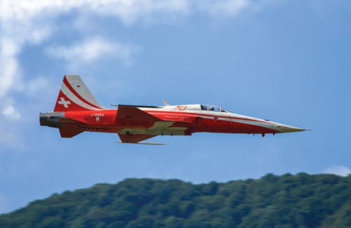 F-5 TIGER Patrouille Suisse 50th Anniversary 1:72