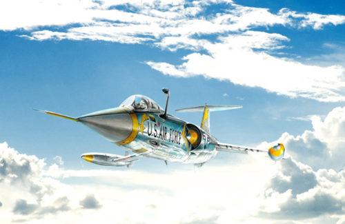 Italeri F-104 A – C Starfighter 1359
