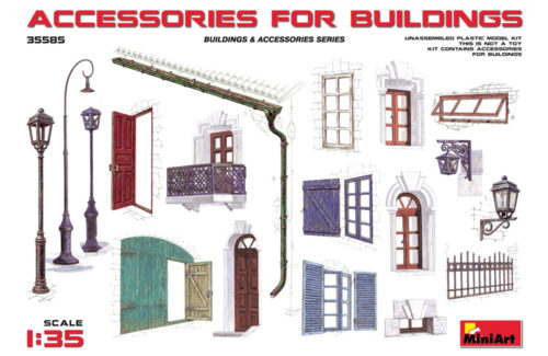 Miniart Accessories for Buildings 35585