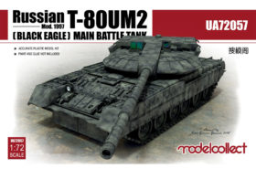 Modelcollect Russian T-80UM2 (Black eagle) Main Battle Tank