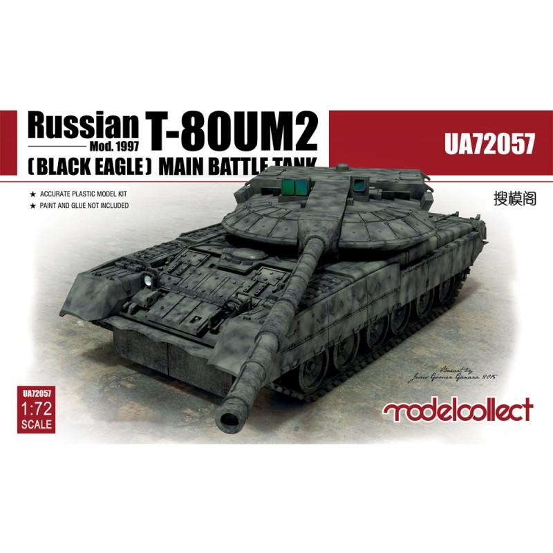 Modelcollect Russian T-80UM2 (Black eagle) Main Battle Tank
