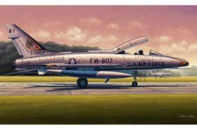 F-100F Super Sabre 02840 Trumpeter 1:48