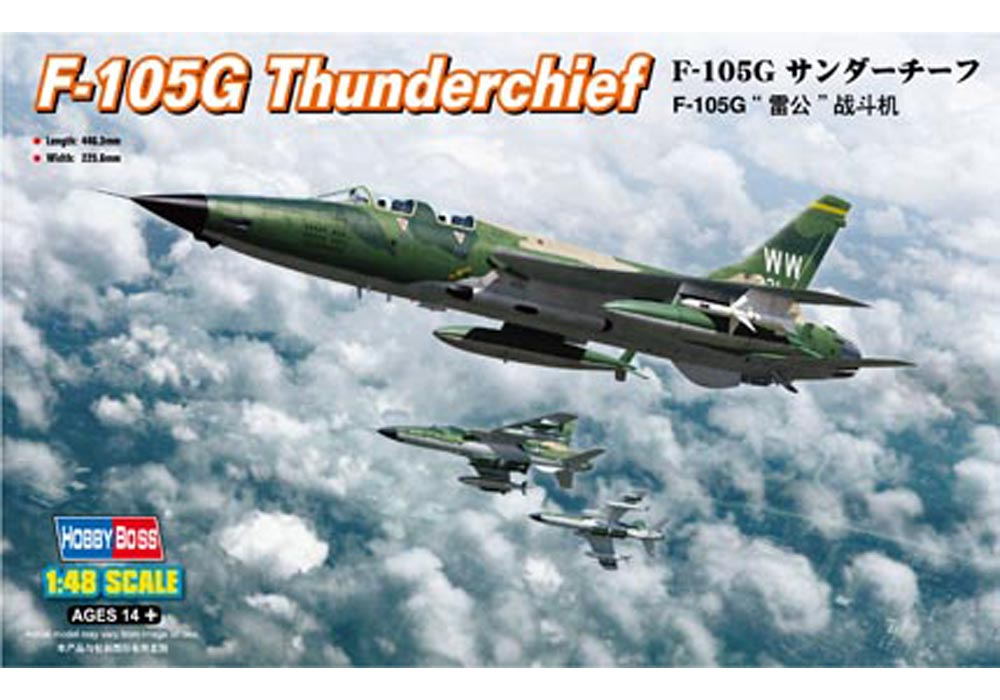 F-105G Thunderchief 1 48