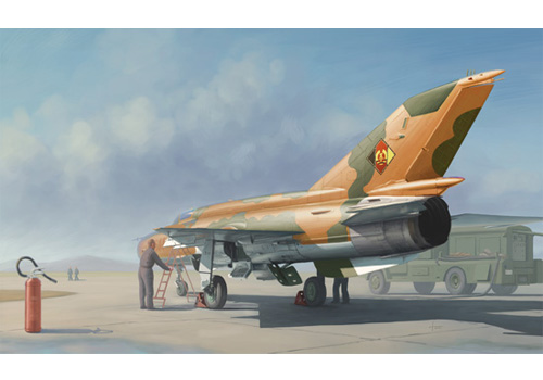 MiG-21MF Fighter Trumpeter 02863