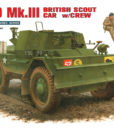 Dingo Mk III with Crew - British Scout Car & 2 Figures Miniart 35077