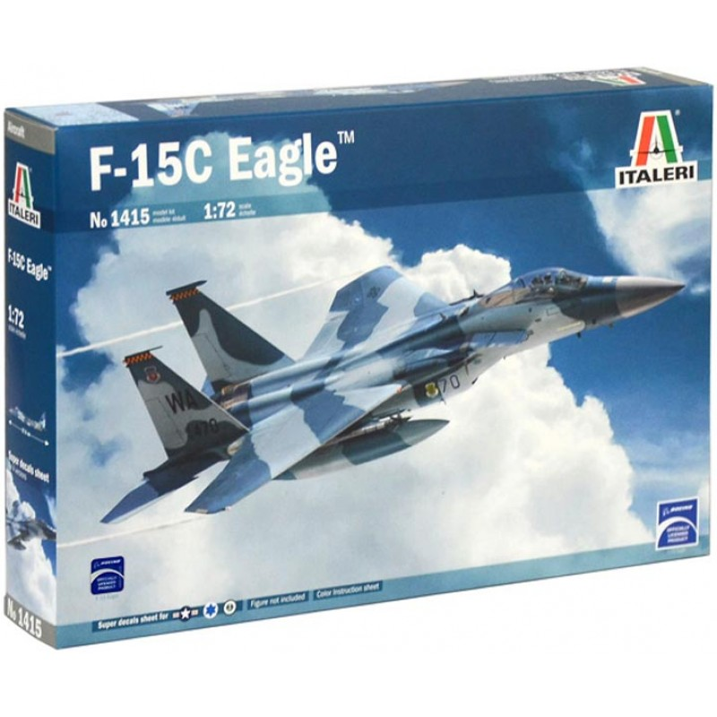 F-15C EAGLE 172 ITALERI 1415
