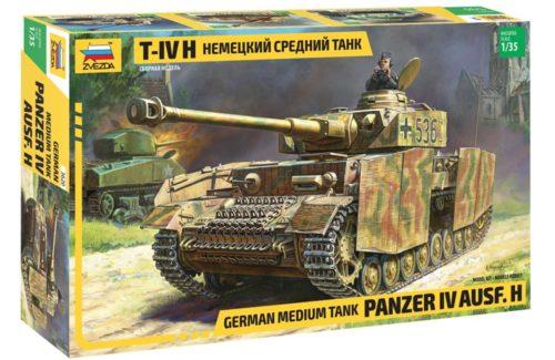 German Medium Tank Panzer IV Ausf H Zvezda