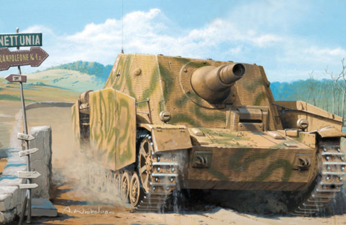 German Sturmpanzer IV Early Version (Mid Production) With Interior 135