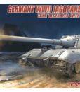 German WWII Jagdpanzer E-100 Tank Destroyer with 170mm Gun 172