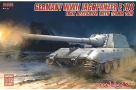 German WWII Jagdpanzer E-100 Tank Destroyer with 170mm Gun 172