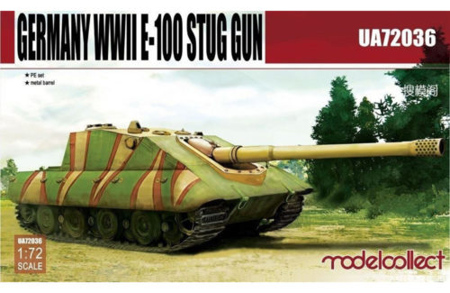 Germany WWII E-100 Supper Heavy Jagdpanther 172 Modelcollect
