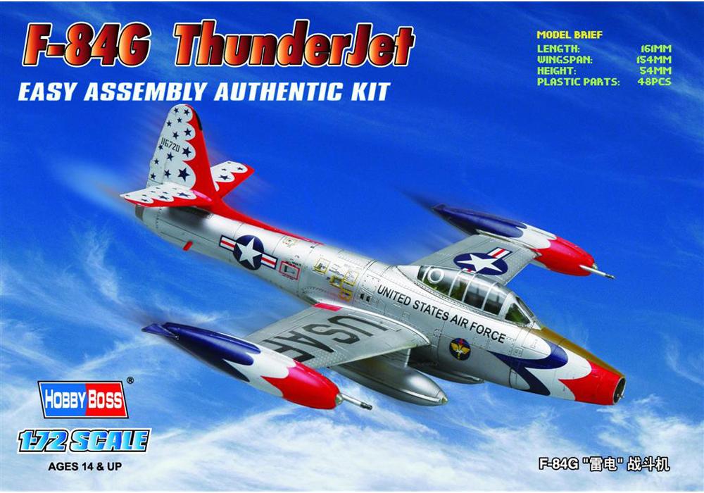 F-84G ThunderJet 1 72 HobbyBoss 80247