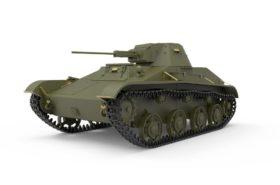 MiniArt Συναρμολογουμενο Αρμα T-60 1 35