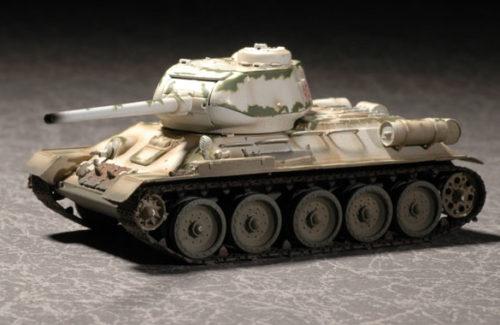 T-34-85 Model winter marking 172 Easy Kit