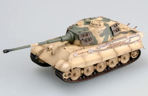 Tiger II (Henschel turret) Schwere SS Pz Abt 503 tank #100 1:72