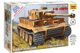 "Heavy tank Pz Kpfw VI ""Tiger"" 1:72"