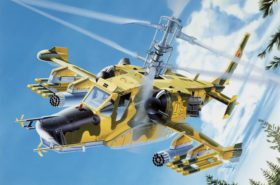 KAMOV Ka-50 Hokum - Model Set 1 72