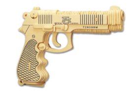 Ξύλινη Κατασκευή Συναρμολογούμενο Όπλο Beretta P112