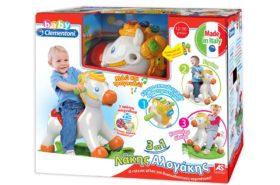 Λακης Αλογακης Baby Clementoni 1000-63152