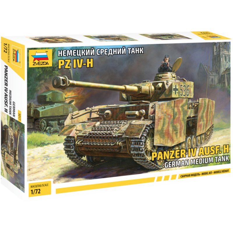 Panzer IV AUSF. H 1:72