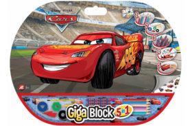 Σετ Ζωγραφικής Giga Block 5 σε 1 Cars