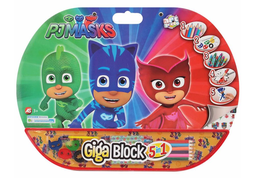 Σετ Ζωγραφικης 5 σε 1 Πιτζαμοηρωες PJ Masks