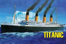 Συναρμολογουμενο Πλοιο R.M.S. Titanic 1 550