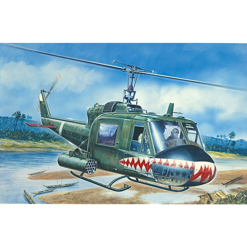UH-1C Gunship - Model Set 1 72