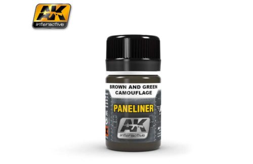 AK Interactive Paneliner for Black and White Camouflage AK2071