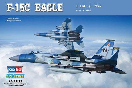 F-15C Eagle 1:72 HobbyBoss