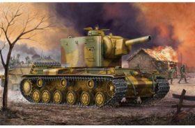 German Pz. Kpfm KV-2 754(r) Tank 1:35 Trumpeter