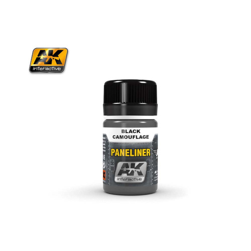 Paneliner for Black Camouflage (35 ml) AK Interactive