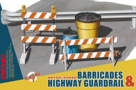 1:35 Barricades & Highway Guardrail MENG PS013