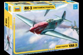 1:48 YAK-3 Soviet Fighter