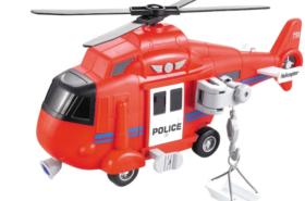 Ελικόπτερο Διάσωσης Μπαταρίας με Φώτα και Ήχους