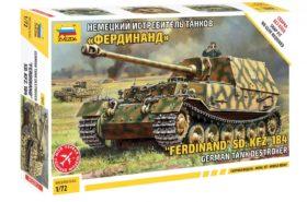 German Tank Destroyer Ferdinand Sd.Kfz.184 1:72