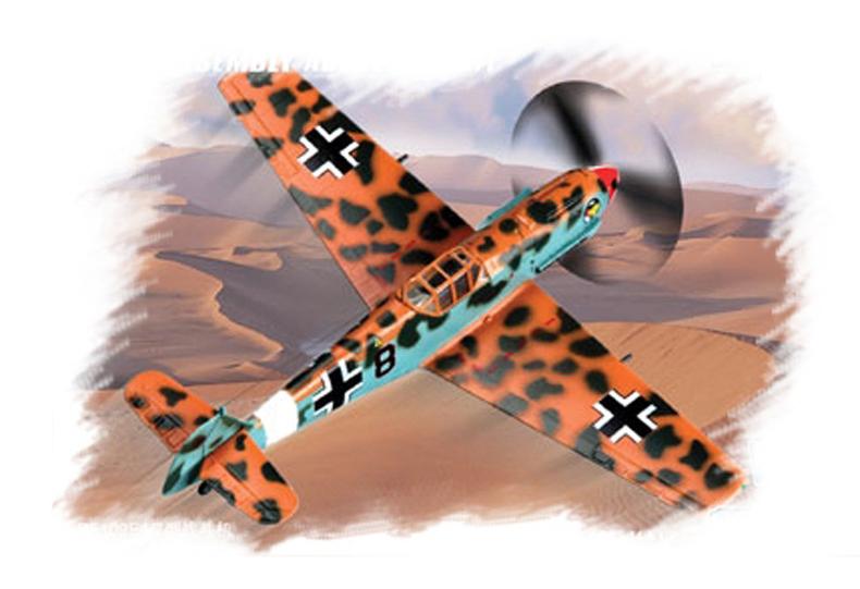 HobbyBoss Messerschmitt Bf109E-4 7 1:72
