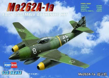 Me262 A-1a Fighter 1:72 HobbyBoss 80249