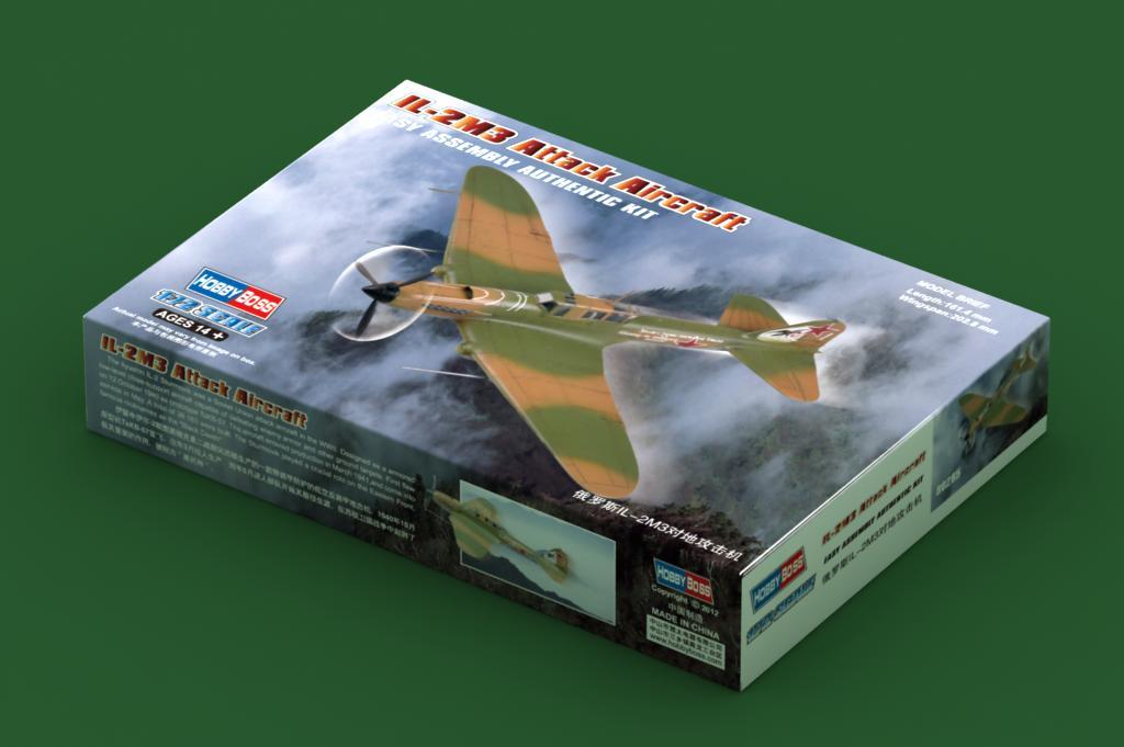 Συναρμολογουμενο IL-2M3 Attack Aircraft 1:72 HobbyBoss