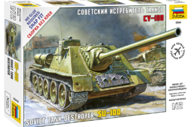 Soviet Tank Destroyer SU-100 1:72