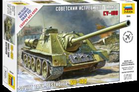 Soviet Tank Destroyer SU-100 1:72
