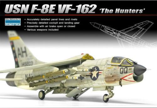 1:72 F-8E VF-162 THE HUNTERS