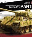 German Medium Tank Sd. Kfz. 171 Panther Ausf D 1:35